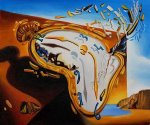 Explosion - Salvador Dali Oil Painting