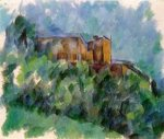 Chateau Noir III - Paul Cezanne Oil Painting