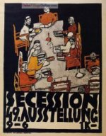 Forty-Ninth Secession Exhibition Poster by Egon Schiele.
