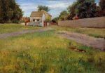 Brooklyn Landscape - William Merritt Chase Oil Painting