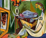 La Muse Gallery Wrap - Pablo Picasso Oil Painting