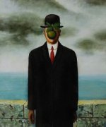 The Son of Man - Rene Magritte Oil Painting