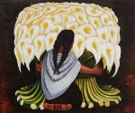 The Flower Seller - Oil Painting Reproduction On Canvas