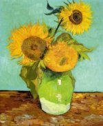 Sunflowers II - Vincent Van Gogh Oil Painting