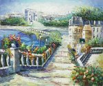 River Near The Arc - Oil Painting Reproduction On Canvas