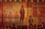 Invitation to the Sideshow - Georges Seurat Oil Painting