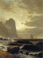 At the South Head, Grand Manan - Alfred Thompson Bricher Oil Painting