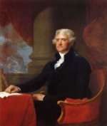 Thomas Jefferson - Gilbert Stuart Oil Painting