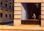 New York Office - Oil Painting Reproduction On Canvas