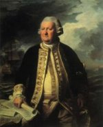 Clark Gayton, Admiral of the White - John Singleton Copley Oil Painting