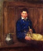 The Bagpipe Player - Henry Ossawa Tanner Oil Painting