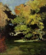 The Clearing - Paul Cezanne Oil Painting