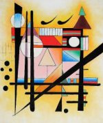 Untitled - Wassily Kandinsky Oil Painting