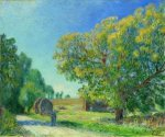 A Forest Clearing - Alfred Sisley Oil Painting