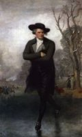 The Skater (William Grant) - Gilbert Stuart Oil Painting