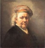 Self Portrait 5 - Rembrandt van Rijn Oil Painting