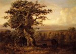 A View in Virginia - William Holbrook Beard Oil Painting