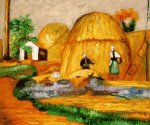 Fair Harvest - Paul Gauguin Oil Painting