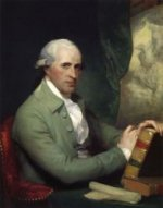 Benjamin West - Gilbert Stuart Oil Painting
