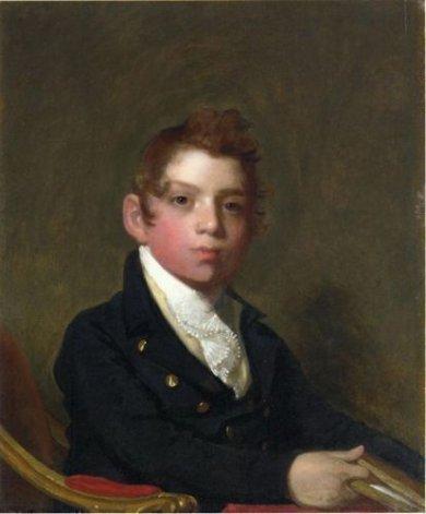 David Urquhart - Gilbert Stuart Oil Painting