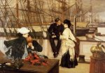 The Captain and the Mate - James Tissot oil painting