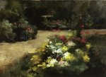 The Garden - Gustave Caillebotte Oil Painting