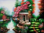 Garden of Prayer - Oil Painting Reproduction On Canvas
