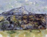 Mont Sainte-Victoire Seen from les Lauves IV -Paul Cezanne Oil Painting