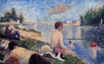 Final Study for 'Bathing at Asnieres - Oil Painting Reproduction On Canvas