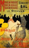 Moulin Rouge - Henri De Toulouse-Lautrec Oil Painting