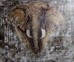 Decorative Elephant painting