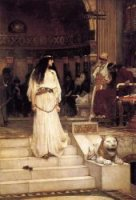 Mariamne Leaving the Judgement Seat of Herod - Oil Painting Reproduction On Canvas