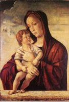 Madonna with Child - Giovanni Bellini Oil Painting