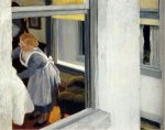 Apartment Houses - Edward Hopper Oil Painting