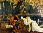 A Convalescent - James Tissot oil painting