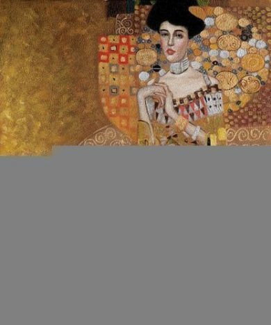 Portrait of Adele Bloch-Bauer 1, 1907 - Oil Painting Reproduction On Canvas