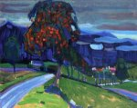 Autumn near Murnau - Wassily Kandinsky Oil Painting