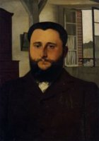 Portrait of Thadee Nathanson - Felix Vallotton Oil Painting