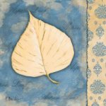 White Poplar Leaf - Oil Painting Reproduction On Canvas