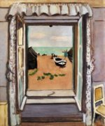 Open Window, Etretat - Henri Matisse Oil Painting