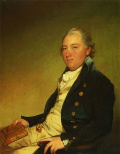 John Campbell - Gilbert Stuart Oil Painting