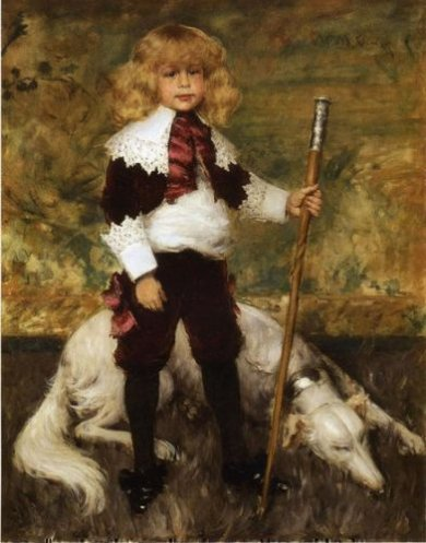 Portrait of James Rapelje Howell - William Merritt Chase Oil Painting Mary Cassatt Oil Painting