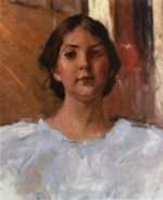 My Daughter Dorothy - William Merritt Chase Oil Painting Mary Cassatt Oil Painting