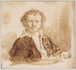 Self Portrait 8 - Rembrandt van Rijn Oil Painting