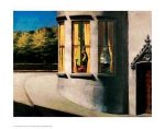 August in the City - Edward Hopper Oil Painting
