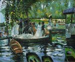 La Grenouillere (The Frog Pond) - Oil Painting Reproduction On Canvas