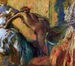After the Bath 9 - Edgar Degas Oil Painting