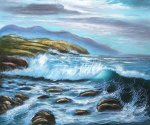 Serenity - Oil Painting Reproduction On Canvas