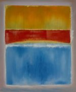 Untitled (yellow, red and blue) - Mark Rothko Oil Painting