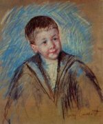 Portrait of Master St. Pierre (study) - Mary Cassatt Oil Painting